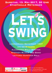 Plakat lets swing 2017